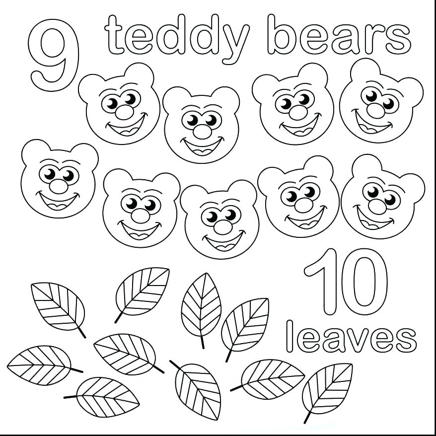 878x878 Number Coloring Pages Coloring Pages With Numbers Also