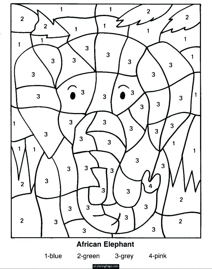 687x871 Number Coloring Pages Number Coloring Page Free Preschool