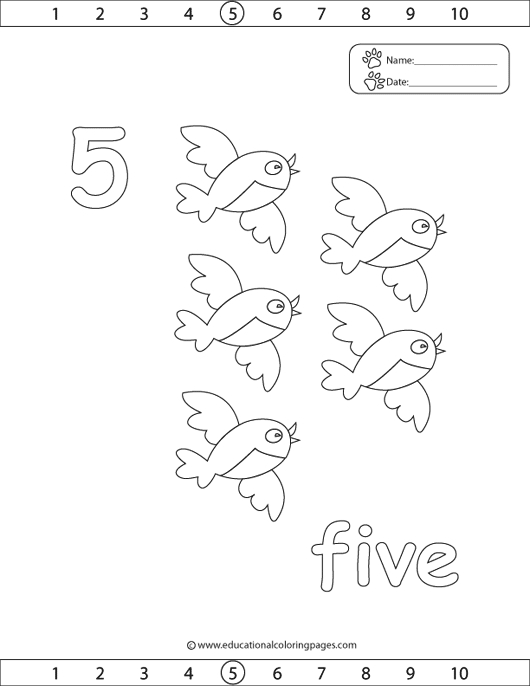 530x686 Number Coloring Pages To Print Free Coloring Sheets