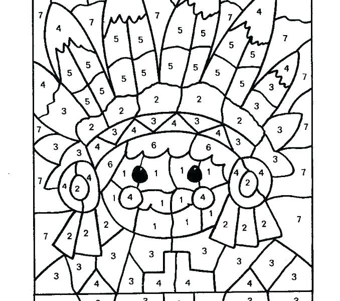 678x600 Coloring Pages Numbers Icontent
