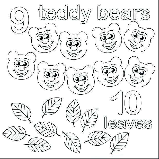 618x618 Counting Coloring Pages Free Coloring Counting Coloring Pages
