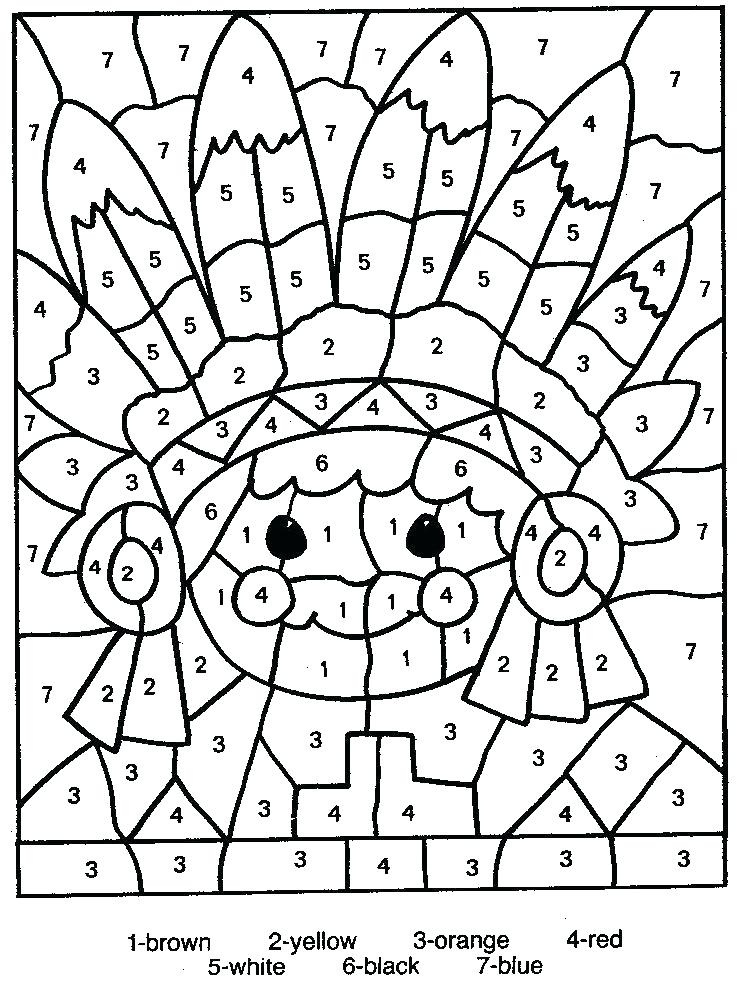 737x987 Coloring Pages Of Numbers Color