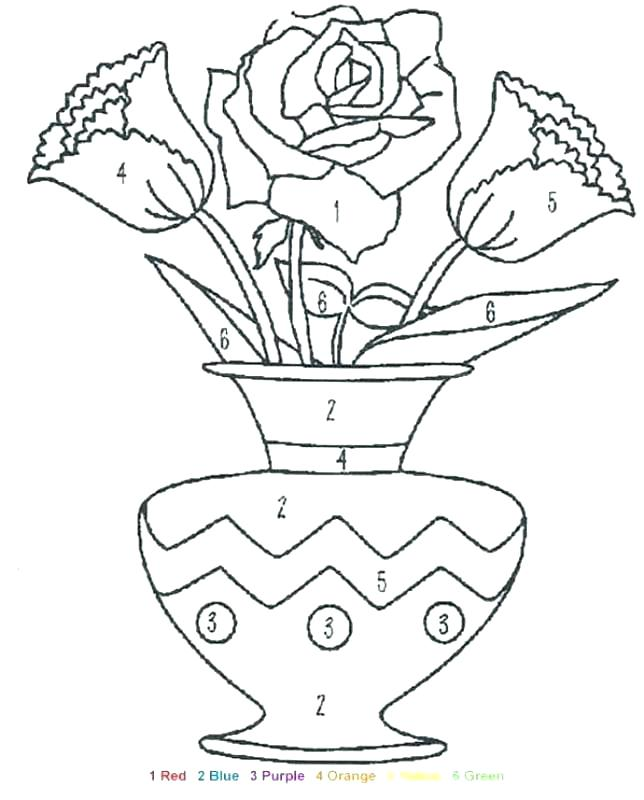 644x800 Number Coloring Page Coloring Trend Medium Size Number Coloring