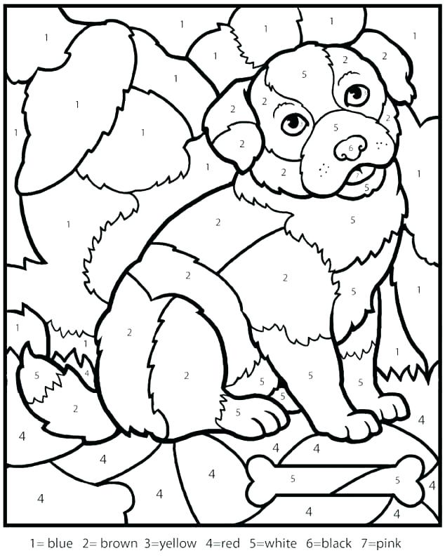 634x798 Coloring Number Pages
