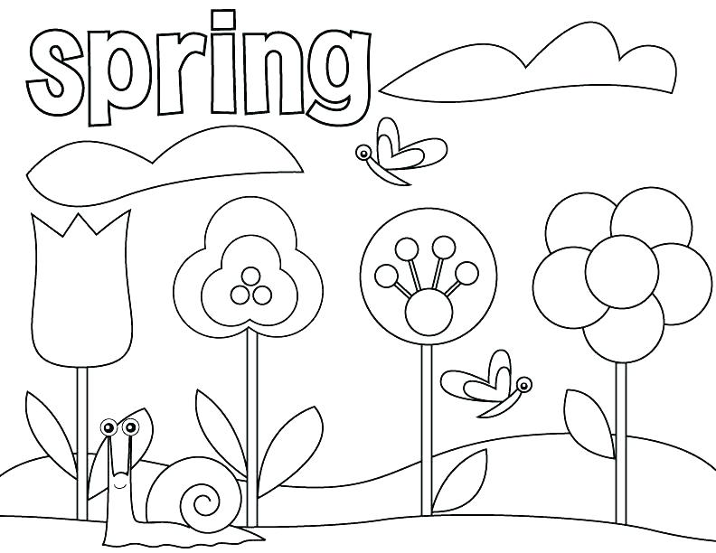 792x612 Number Coloring Pages Preschool Number Coloring Pages Preschool