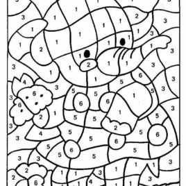 Number Coloring Pages For Toddlers At Getdrawings Com Free For