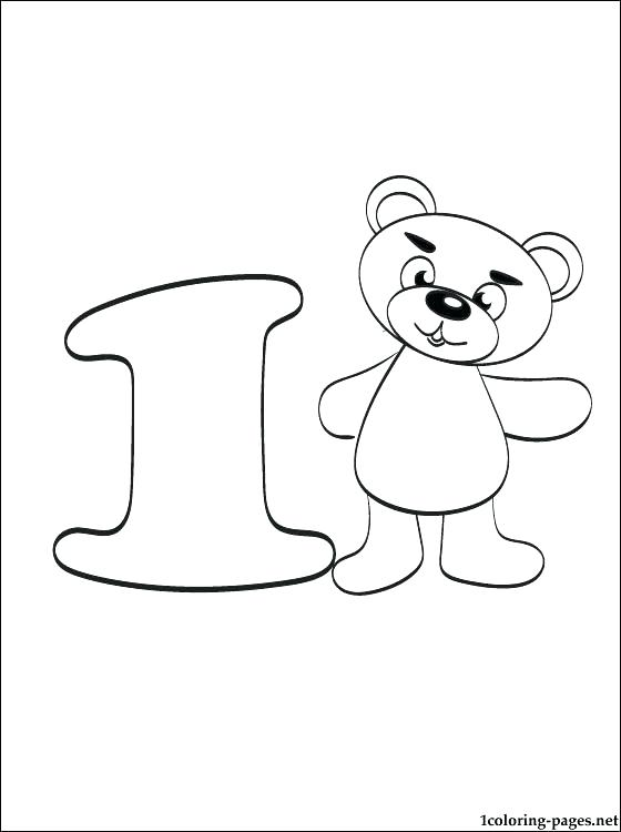 560x750 Number Coloring Page Number To Color Number One Coloring