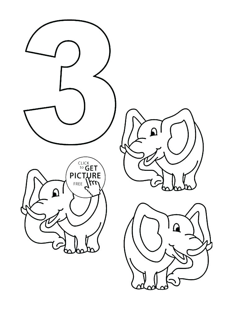 729x1024 Number Coloring Page Number Coloring Sheet Number Coloring