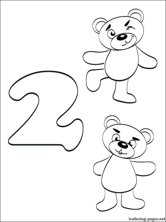 560x750 Number Coloring Pages Number Coloring Page Coloring Number
