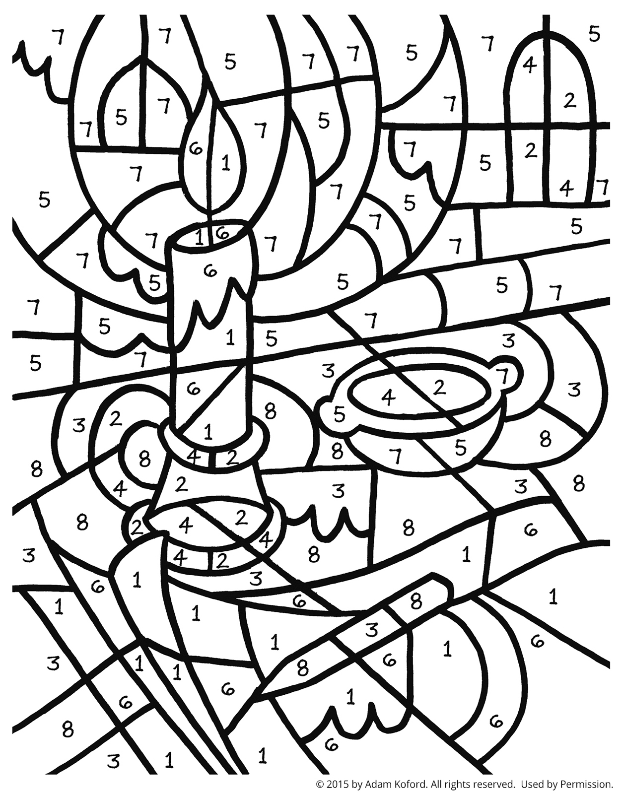 Numbers Coloring Pages Pdf At Getdrawings Free Download