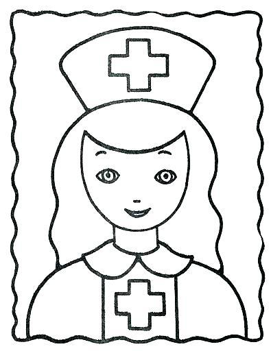 395x512 Nurse Coloring Pages Nurse Coloring Page Nurse Coloring Pages