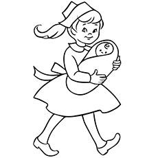 230x230 Top Free Printable Nurse Coloring Pages Online