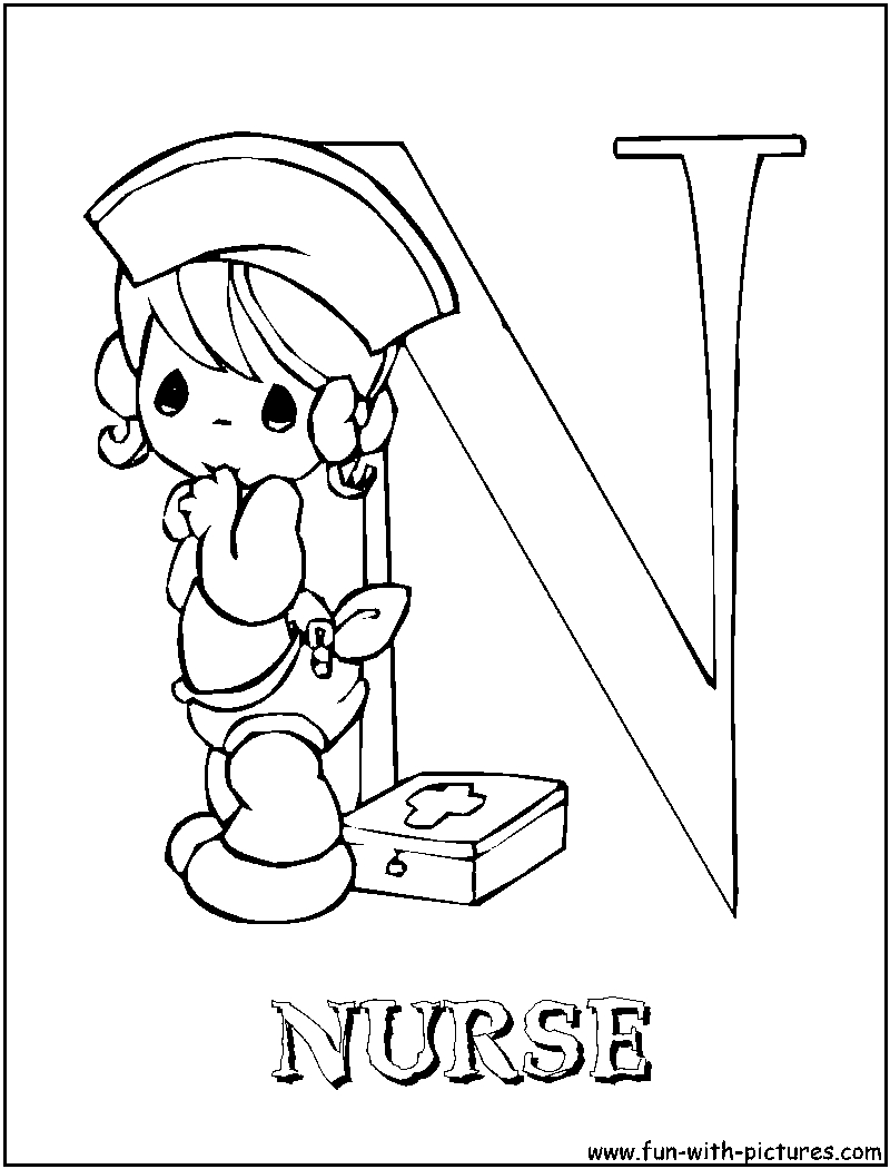 800x1050 New Excellent Munity Helpers Coloring Pages Nurse Free Coloring