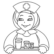230x230 Free Nurse Coloring Printable For Kids Are You My Nurse
