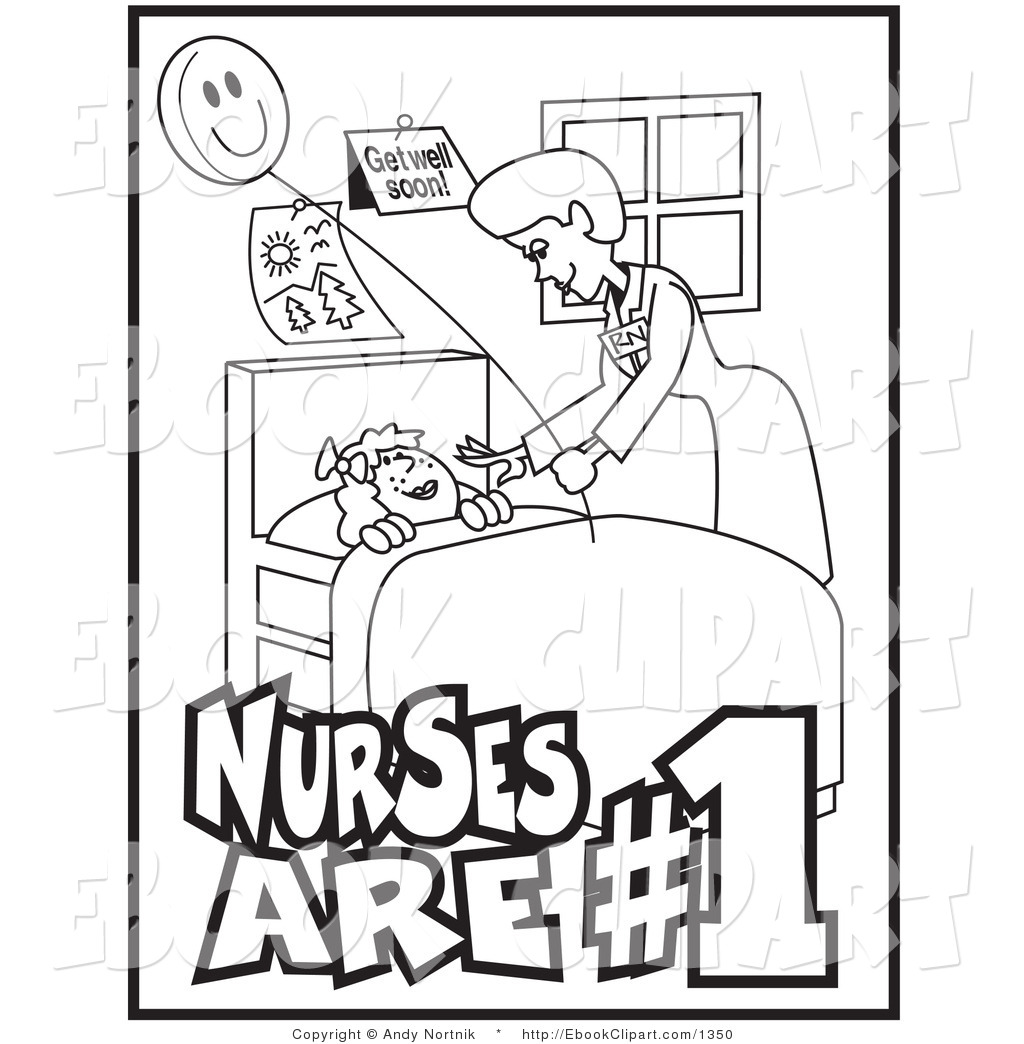 Nurse Coloring Pages For Preschool