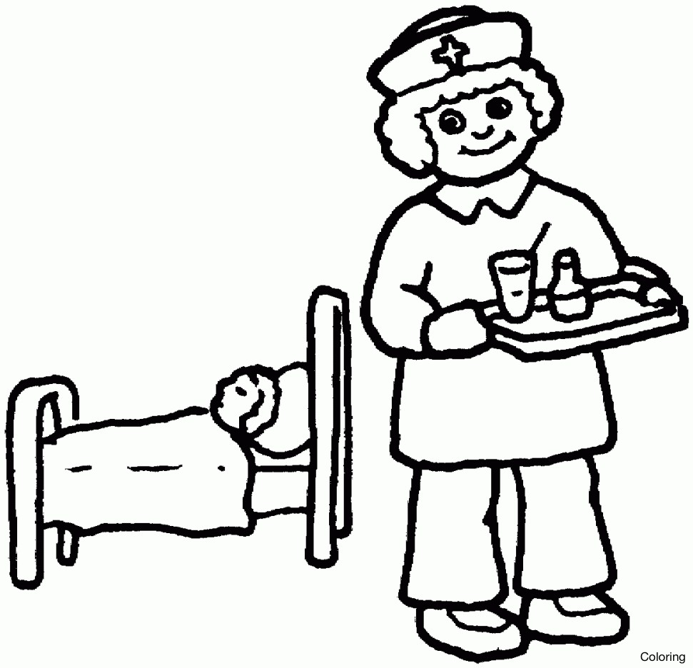 971x936 Nurse Coloring Pages Kindergarten New Free Alphabet Coloring Pages