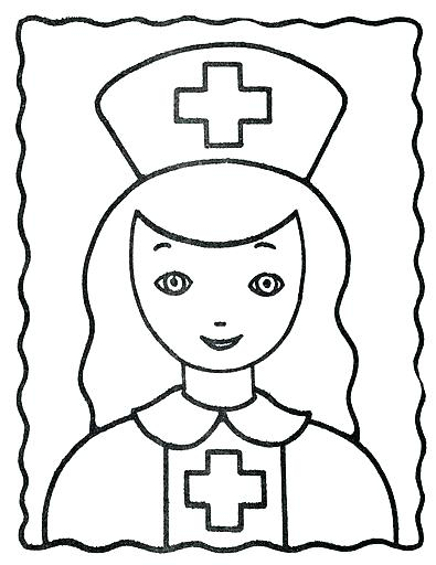395x512 Nurse Coloring Page Nurse Coloring Pages From Coloring Pages Post