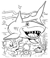 Nurse Shark Coloring Page