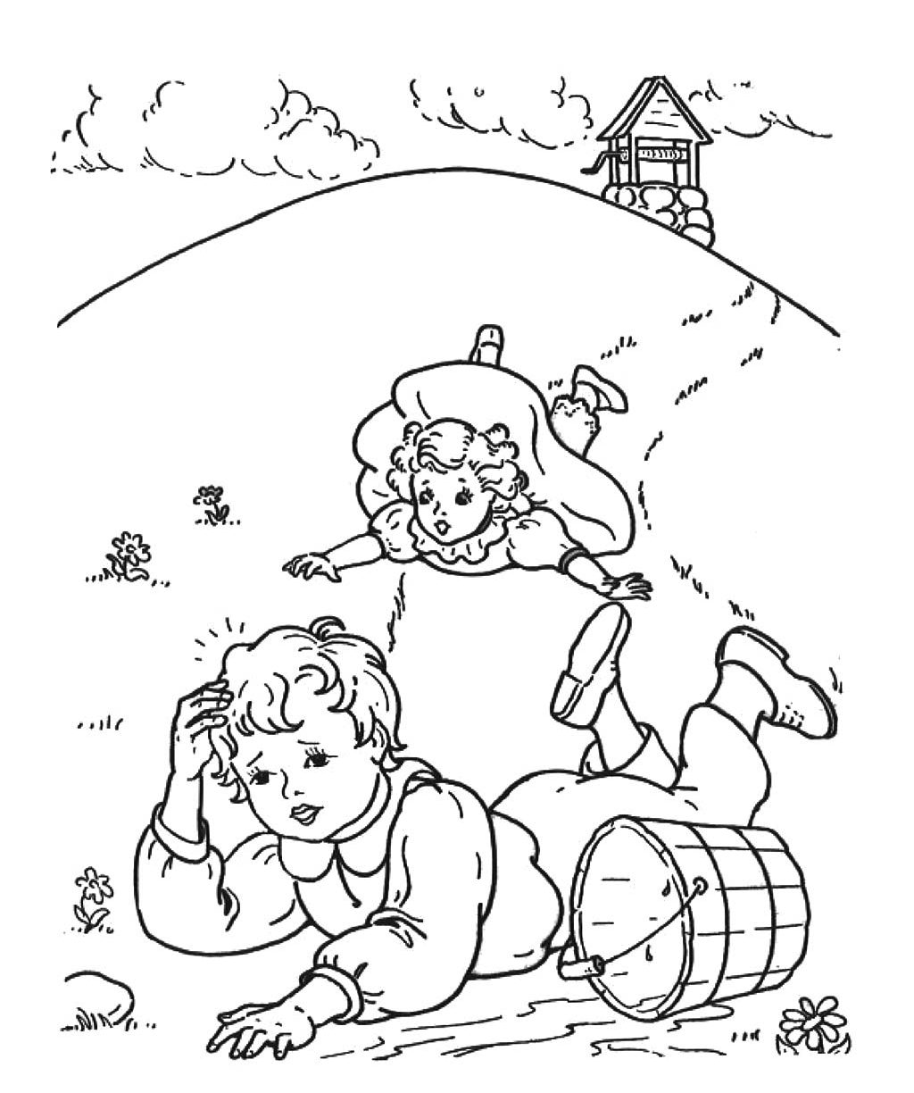 1024x1224 Nursery Rhyme Coloring Pages Childrens Rhymes General For Toddlers