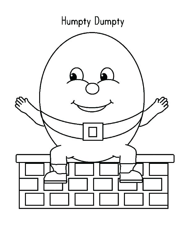 600x776 Nursery Rhyme Coloring Pages Coloring Page Nursery Rhyme Coloring
