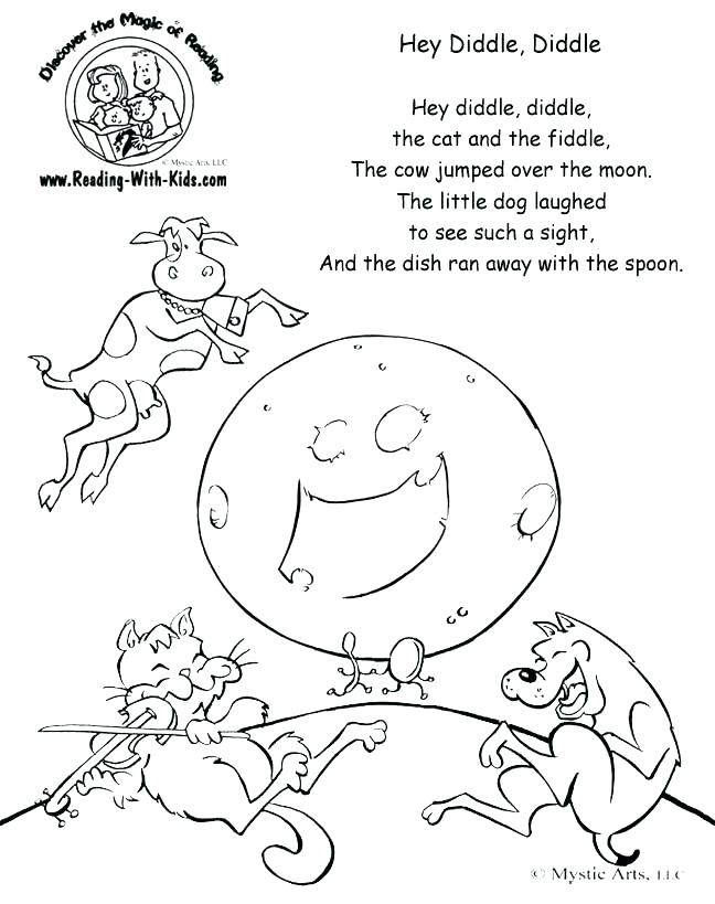 648x819 Hickory Dickory Dock Coloring Page Nursery Rhyme Coloring Pages