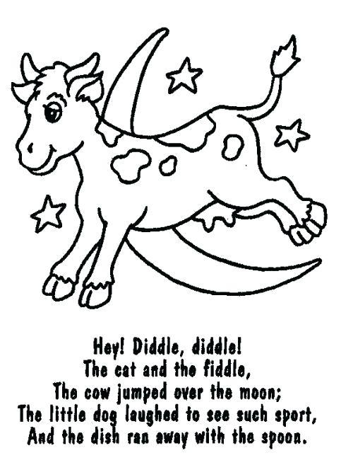 483x657 Baa Black Sheep Printable Coloring Page Nursery Rhymes Pages