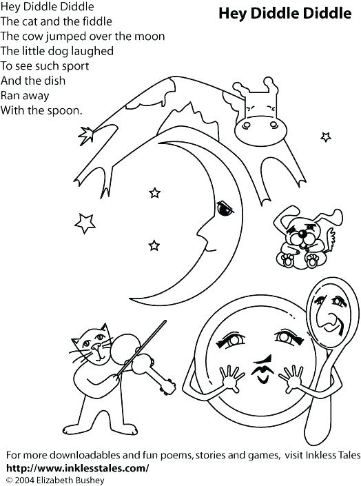 524x705 Nursery Rhyme Characters Colouring Pages Rhyming Coloring Sheets