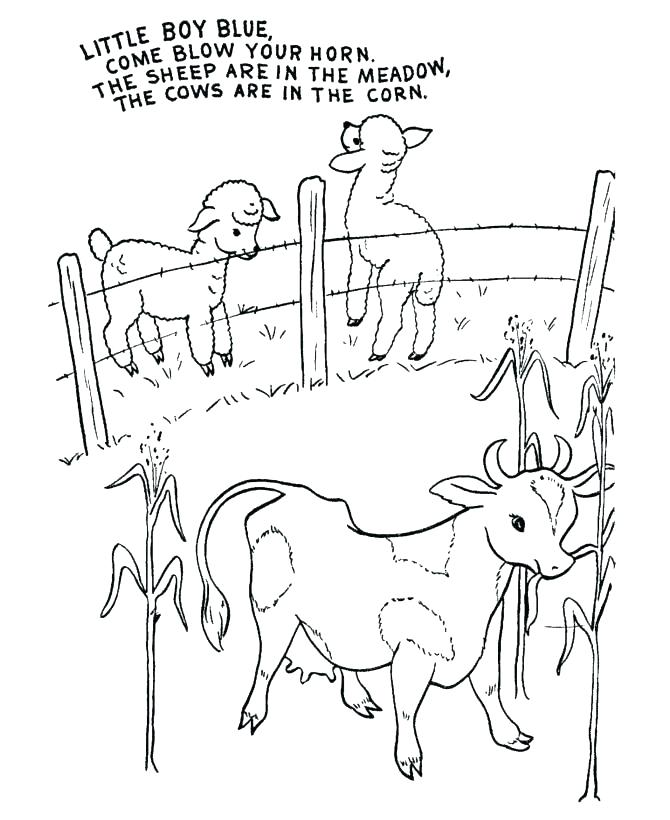 Nursery Rhymes Printables Coloring Pages At Getdrawings