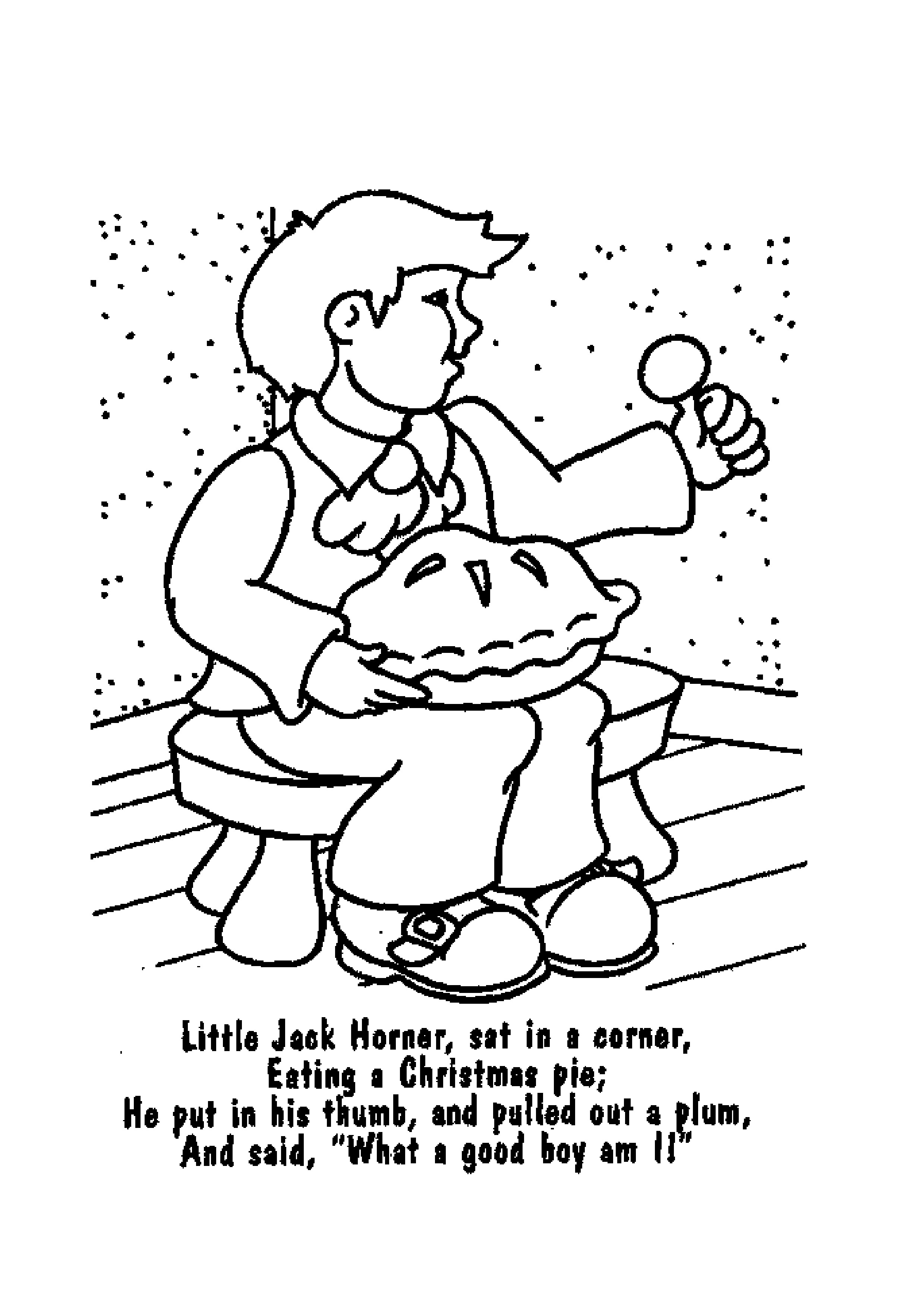 2479x3508 Improved Jack Be Nimble Coloring Page Nursery Rhymes Pages Kids