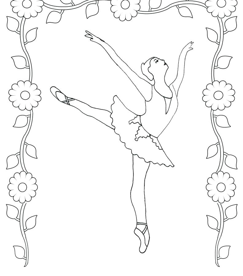 791x900 Great Brave Coloring Pages Print Ballet Positions Backgrounds
