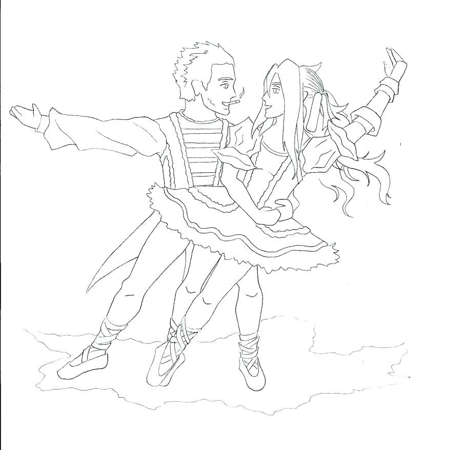 878x878 Nutcracker Ballet Coloring Pages