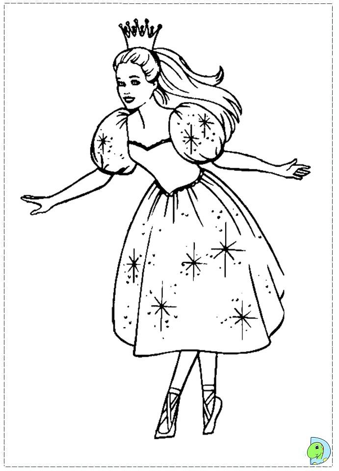 691x960 Nutcracker Ballet Coloring Pages