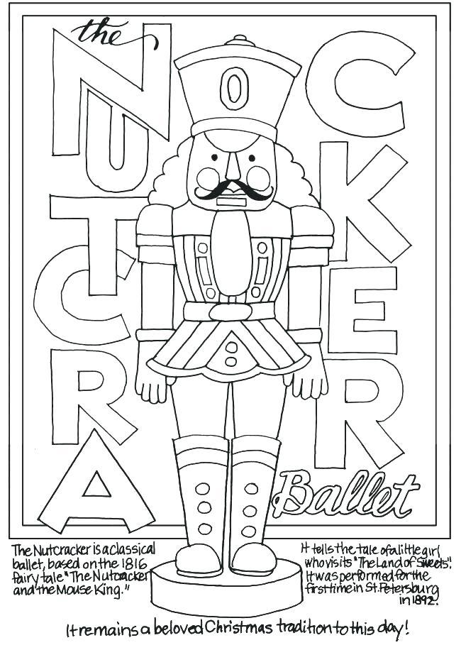 650x909 Nutcracker Coloring Pages Printable Nutcracker Coloring Pages Best