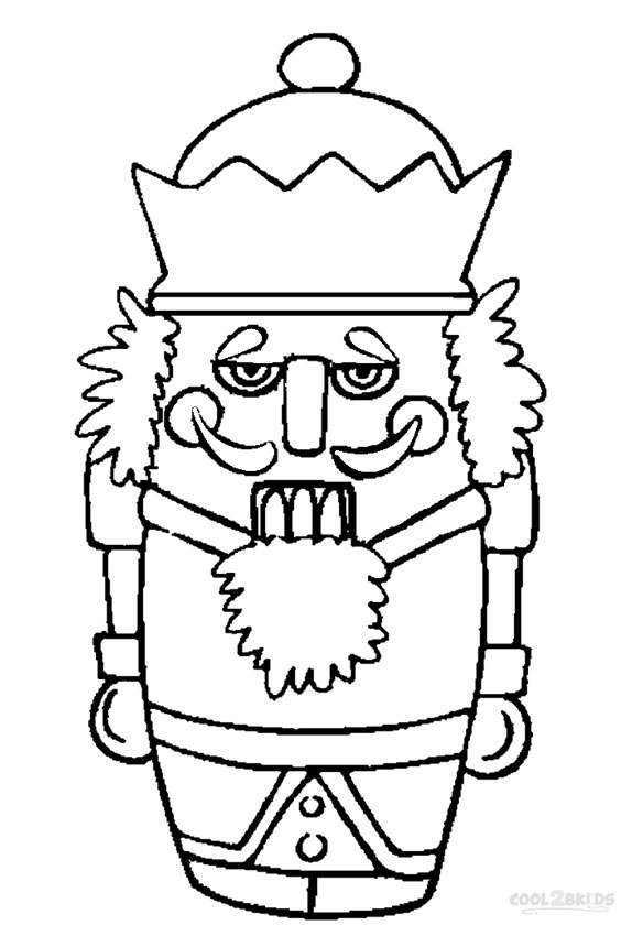 584x850 Printable Nutcracker Coloring Pages For Kids