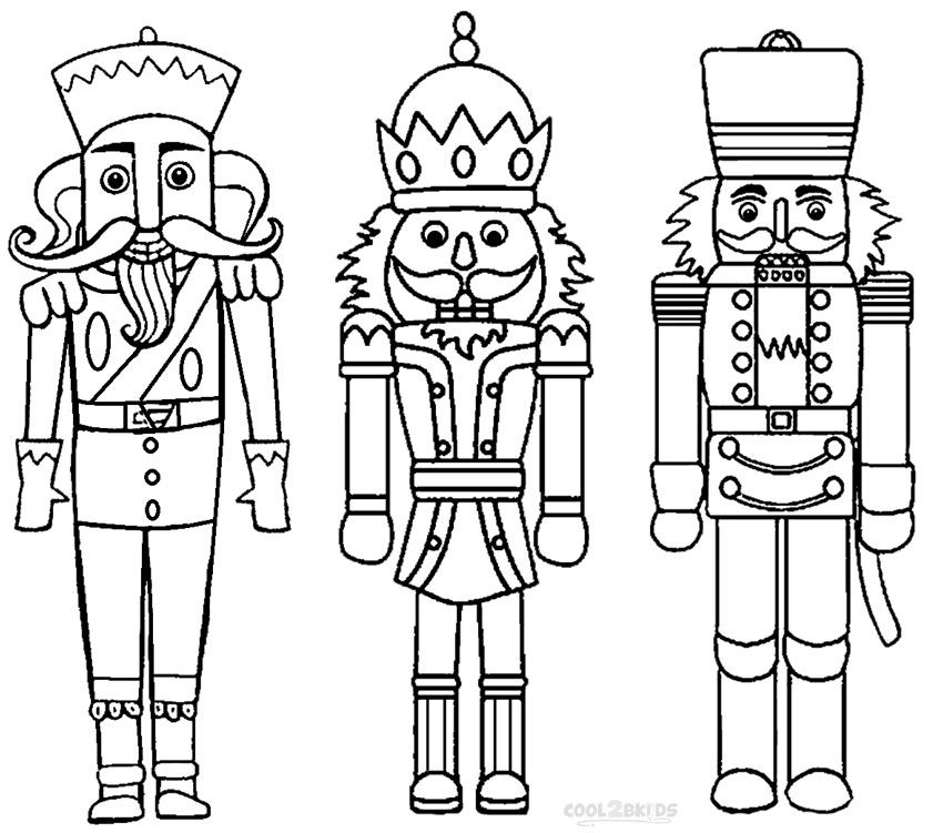 850x751 Printable Nutcracker Coloring Pages For Kids Fairy