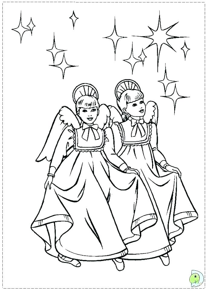 691x960 Nutcracker Coloring Pages