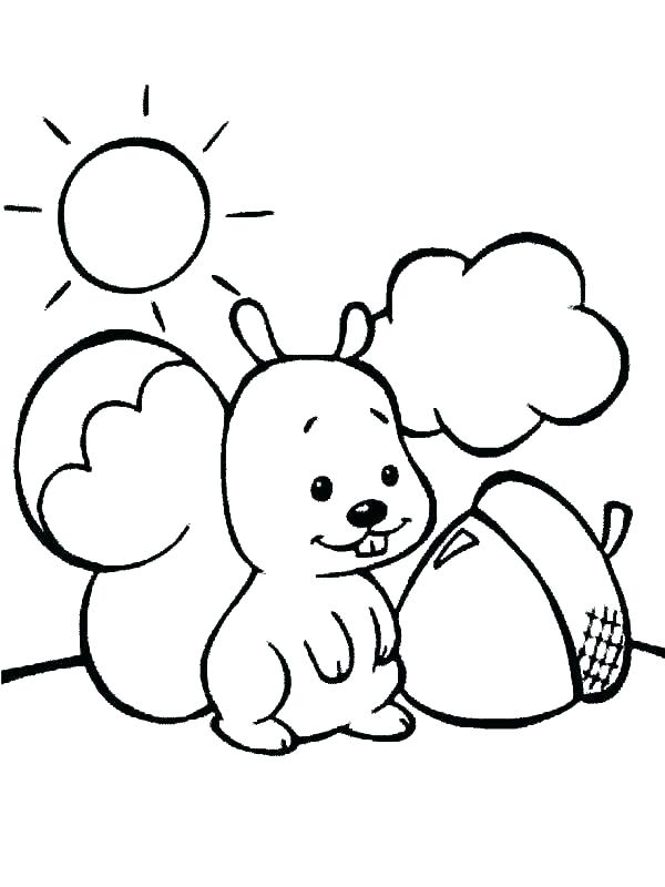 600x800 Squirrel Coloring Page Squirrel Coloring Page Collection Squirrel