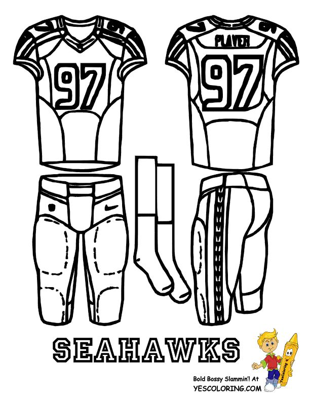 612x792 Best Fearless Free Football Coloring Pages! Images