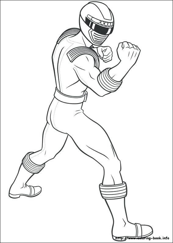 567x794 Power Rangers Coloring Pages Free Online Super Samurai To Print