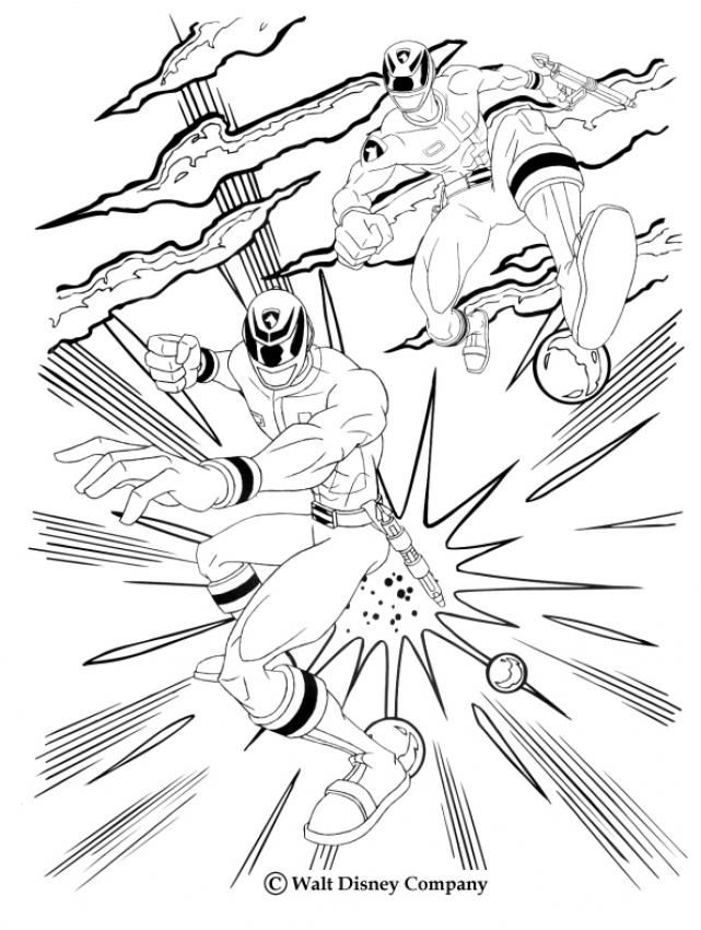 641x850 Fighting Rangers Coloring Page More Power Rangers Coloring Sheets