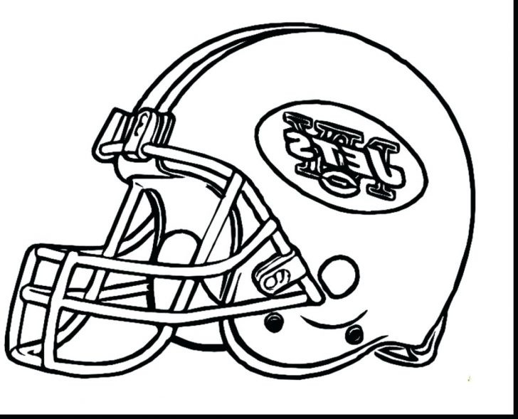 728x589 New York Coloring Pages Rangers Printable Fantastic Jets Football