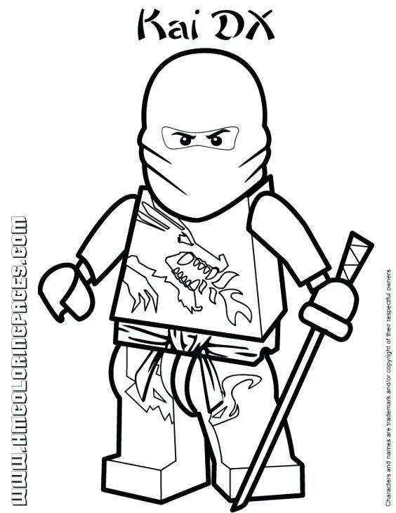 564x730 Lego Ninjago Coloring Page Coloring Pages Best Of Fresh Ninja