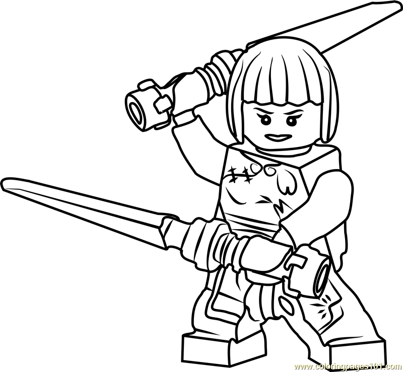 nya ninjago coloring page at getdrawings free