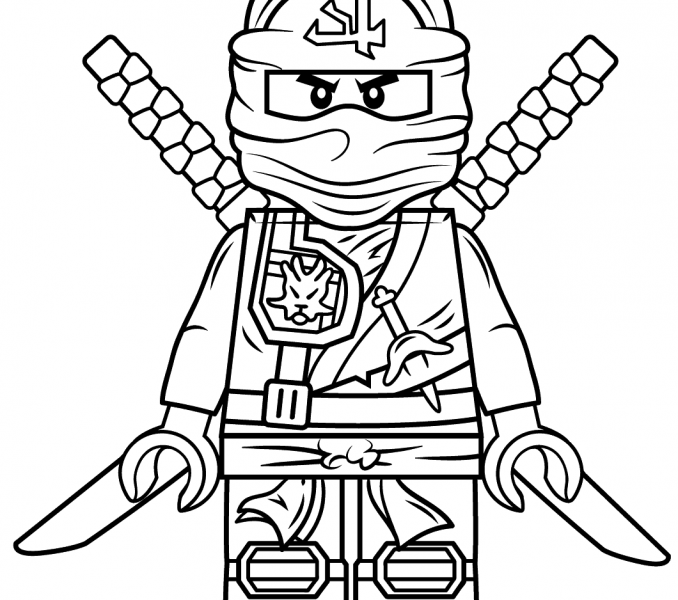 Nya Ninjago Coloring Page At Getdrawings Com Free For