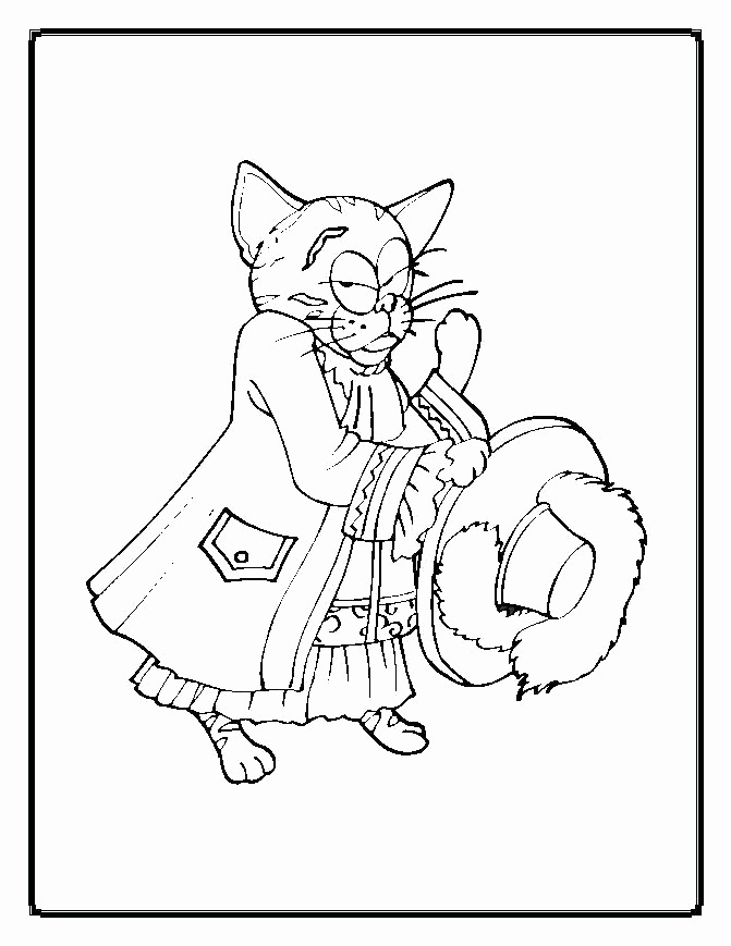 Nyan Cat Coloring Page
