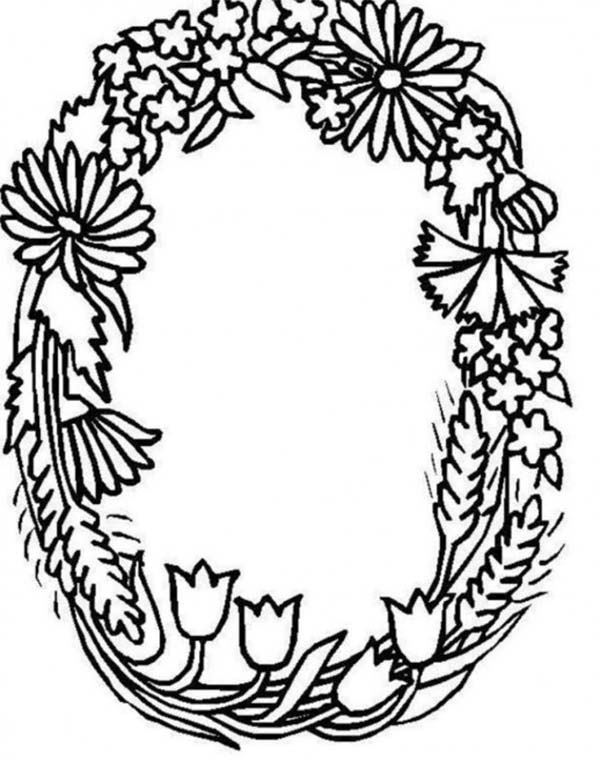 O Coloring Page At Getdrawings Free Download