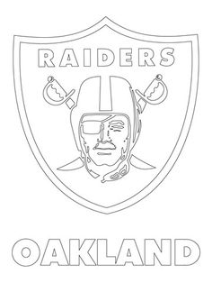Oakland Raiders Coloring Pages at GetDrawings | Free download