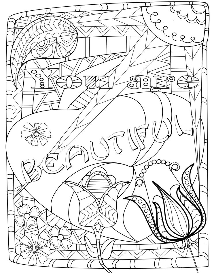 Oasis Coloring Pages