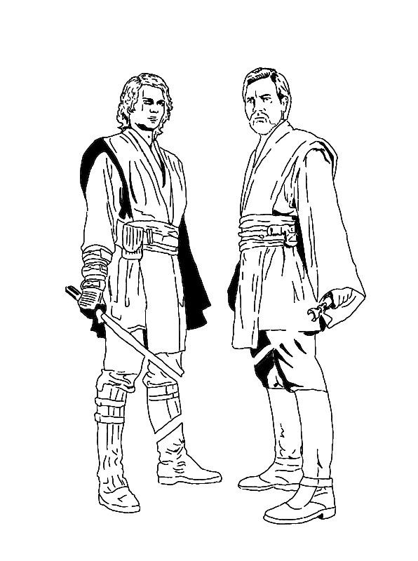 The Best Free Obi Coloring Page Images Download From 108 Free
