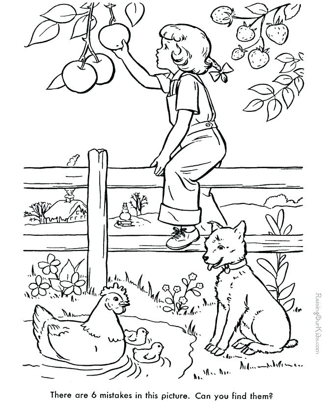 670x820 Hidden Object Coloring Pages Find The Hidden Objects Printable